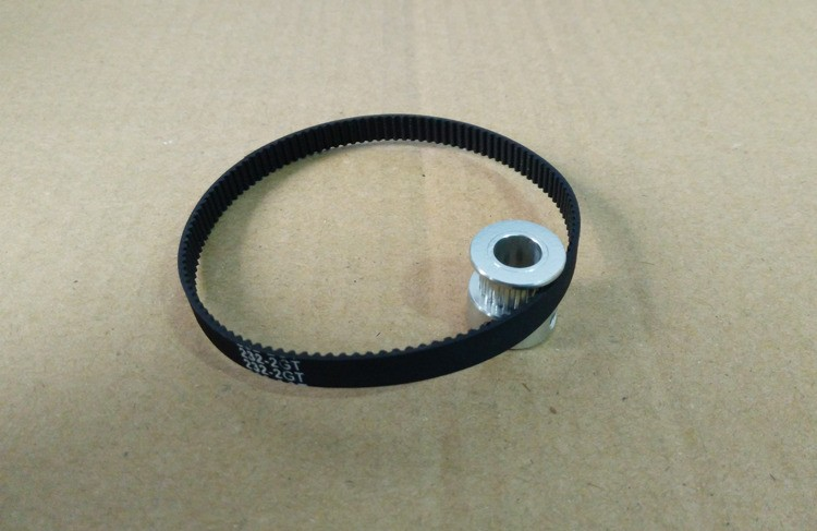 Fine Quality Black Rubber 2GT-6 232mm Perimeter Timing Belt 6mm Width Closed Loop Synchronous Belt Transmission Accessories 8
