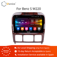 9 Ownice K1 K2 K3 2 Din Andorid 9.0 Car Radio DVD Player for Mercedes Benz W220 W215 S280 S320 S350 S400 S500 CL600 S Class GPS