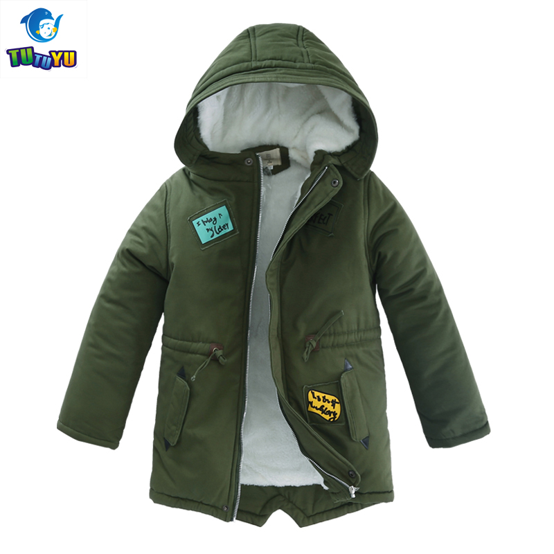 Children Winter Clothes Boys Winter Warm Duck Down Jacket Thicken Coat for Boys Kids Teenage Winter Hooded Outerwear 6T-16T