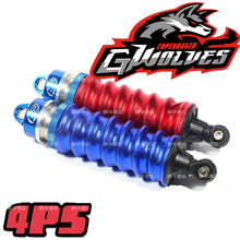 GWOLVES shock absorber cover shock absorption cover dust-proof 1/8 off road car Truck buggy Monster RC car parts for hsp Hpi 4pc gwolves 1 8 rc buggy scale truck off road tyre banner wilderness tires glue wheels contest practice for 1 8 rc car parts