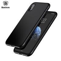 Case For IPhone X 10 Original Baseus Armor Cover Case For IPhone X Capinhas TPU TPE