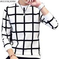 Men S Hoodies 2016 Autumn New Men S Casual Fashion Plaid Hoodies Plus Size Code M