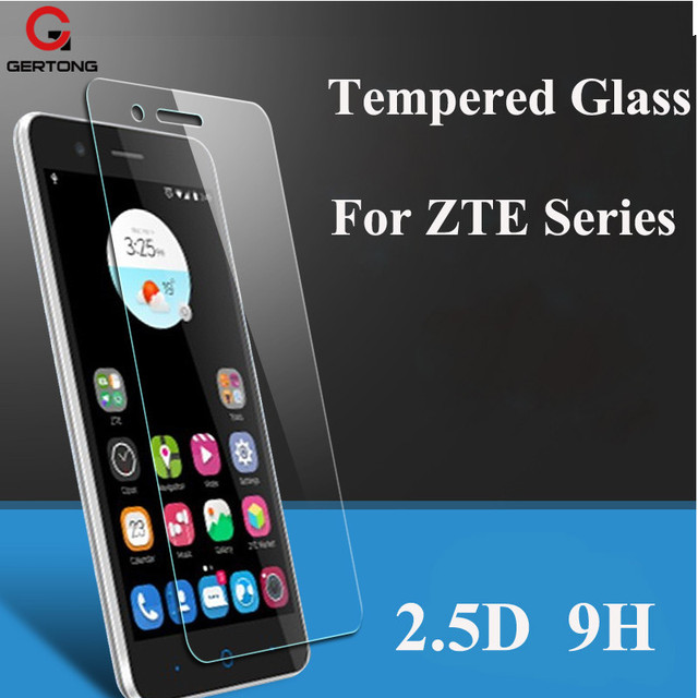 GerTong 9H Screen Protector Tempered Glass For ZTE Blade X3 A452 X5 L3 Plus S6 L110 X 3 5 Nubia Z11 Mini Z9 Max Protective Film