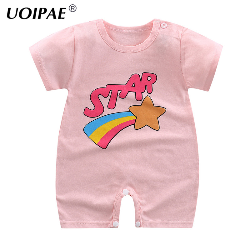 Brand Baby Clothes Pajamas Newborn Baby Rompers Cartoon Infant Short Sleeve Jumpsuits Boy Girl Autumn Spring Unisex Baby Clothes lemonmiyu cotton baby rompers long sleeve newborn pajamas animal print infant boy girl one piece spring autumn baby clothes
