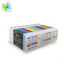 цена Winnerjet 11 color 300ml Empty refill ink cartridge with auto-reset chip for Epson 4900 printer