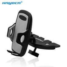 360 rotatif réglable CD Slot voiture support de téléphone Xnyocn voiture CD lecteur universel Smartphone support pour IPhone 6 7 Samsung S6 S8 9