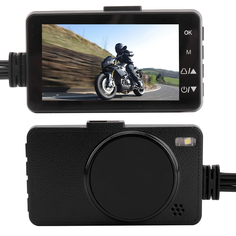 Boruit Vehicle-Camera Dash-Cam Motorcycle Rear-Camcorders-Recorder Auto-Dvr-Motor Front