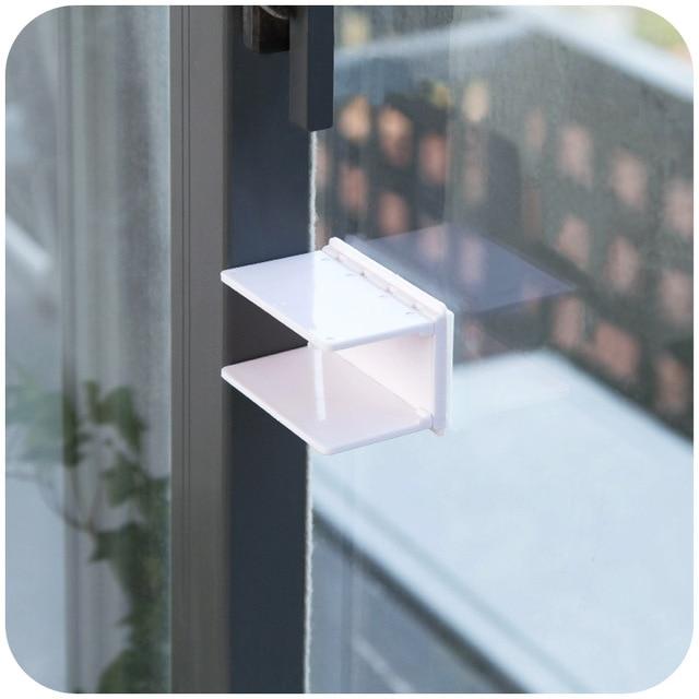 infant child safety pratical baby lock proofing safe secure sliding window door closet lock move. Black Bedroom Furniture Sets. Home Design Ideas
