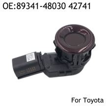 New 89341-48030 42741 Wireless Car Parking Sensor For Toyota Lexus GX460 RX350 RX450H Pearl Red Color Genuine