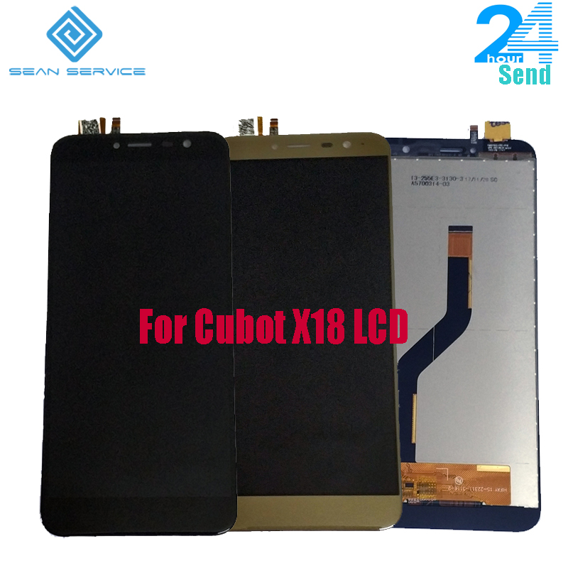 Per il 100% Originale Cubot X18 Display LCD + Touch Screen Screen Digitizer Assembly di Ricambio 5.7 pollice Per Il Nuovo Cubot X18 testato