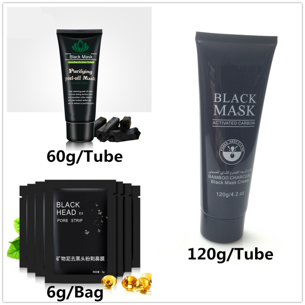 Black spot Remover Mask Nose Face Blackhead Remover Face Pack Peel Off Black Head Acne Treatments