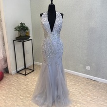 kissbridal Spring Evening Dress Floor Length Prom Dresses