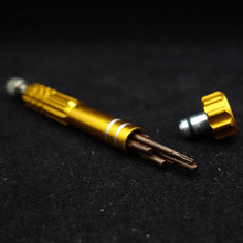 1pc 5 in 1 screw diver tool for diy rda rta atomizer aluminum material electronic cigarette vape accessory