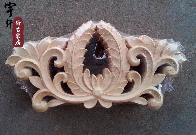 furniture motifs. Dongyang Wood Carving Fashion Corners Carved Motif Shavings Applique Furniture Door Cabinet Motifs D
