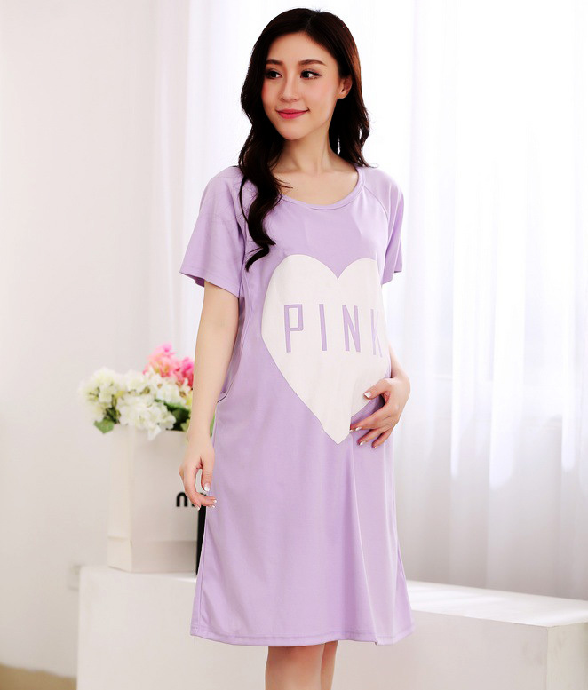 Summer pregnancy dresses childing dress womens clothing dress maternity gown female clothes home clothing breast feeding top