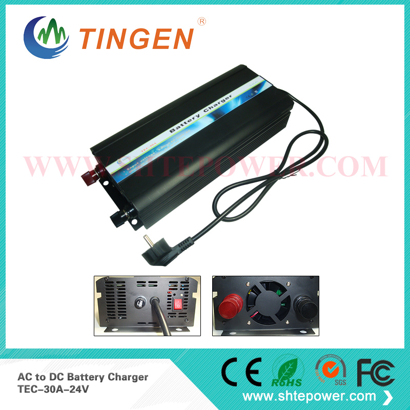 car lead acid battery charger  24v 30amp