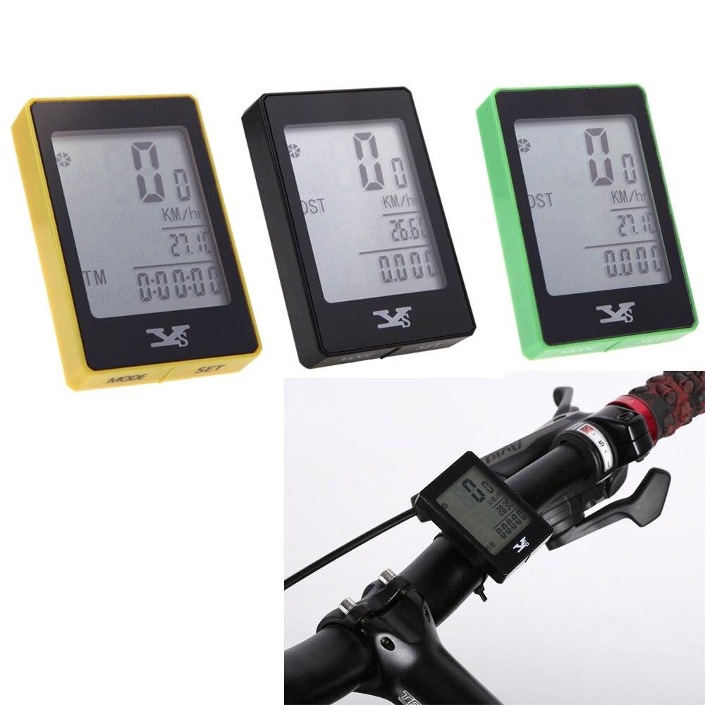 Nové vodotěsné bezdrátové kolo jízdních kol počítač cyklistika odometr rychloměr dotykové tlačítko LCD podsvícení podsvícené stopky