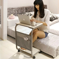 Lazy Bedside Computer Desk Simple Household Floor standing Study Writing Table Movable Multifunction Flexible Laptop Bracket