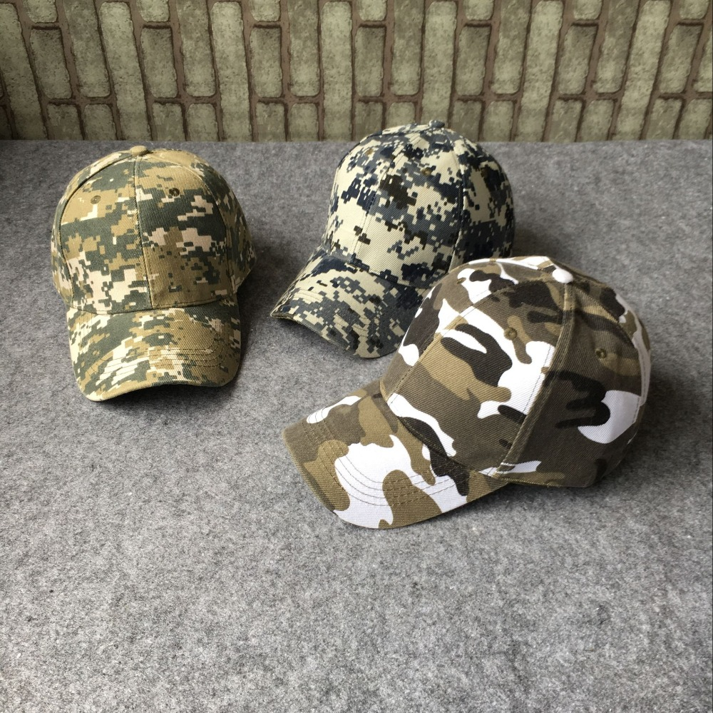 Camouflage cap Army cap Snapback Bones Airsoft cap cotton Adjustable dad hats Men Women Baseball Cap b095