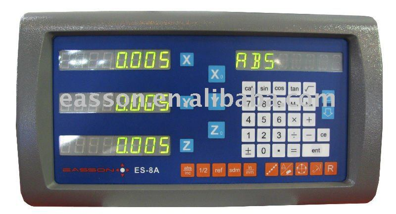 High quality EASSON ES-8A 3axis digital readout DRO for mill lathe EDM machine цены онлайн