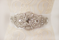 Stunning Bridal Sashes For Wedding Beads Crystal Rhinestones Pearl Satin Belt Wedding Accessories