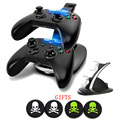 LED Controllers Dual Charger Charging Dock stand station Adapter With USB Data Charing Cable for Xbox ONE Wireless Controller