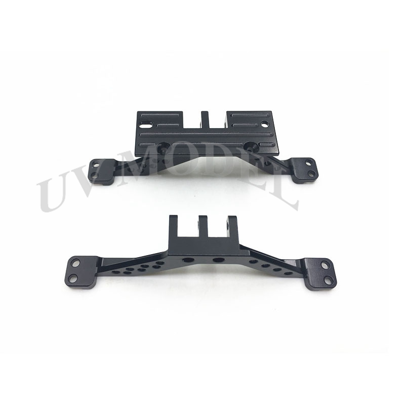 Black Aluminum 4 Link Rod Axle Mount Set For Axial SCX 10 Front Axle & Rear Axle High Quality tc02311010047 tc0231101004 the housing for front axle