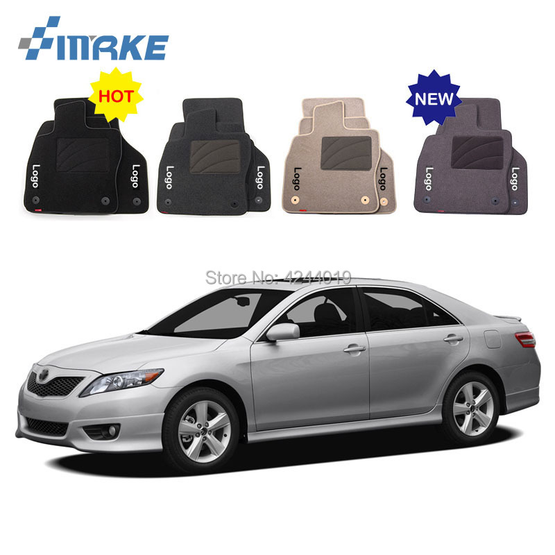 For Toyota Camry Car Floor Mats Front Rear Carpet Complete Set Liner All Weather Waterproof Customized Car Styling