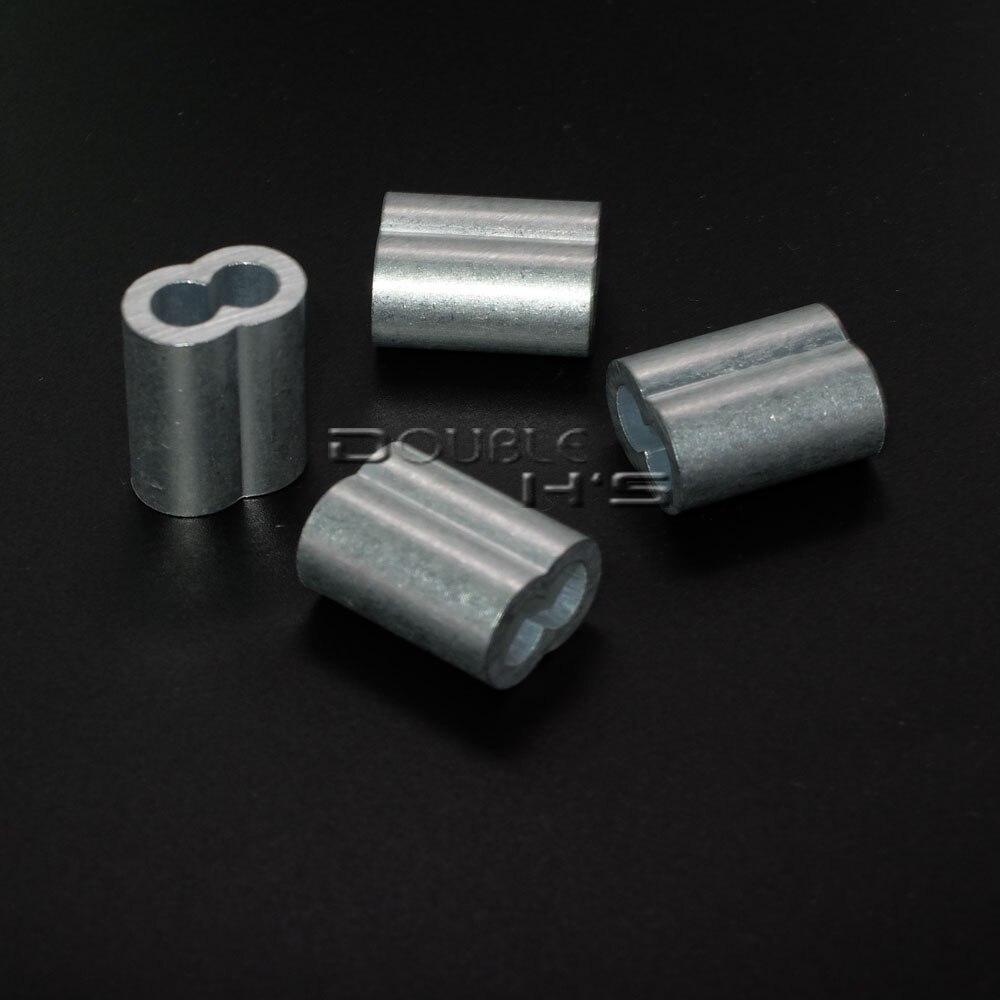 5000pcs/lot 2mm Aluminum Cable Crimps Sleeves Rope Clip