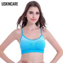Candy Women Sports Bra Girl's Padded Wirepree Adjusted-straps Strength Flexible Breathable Top Gym Fitness sujetador deportio