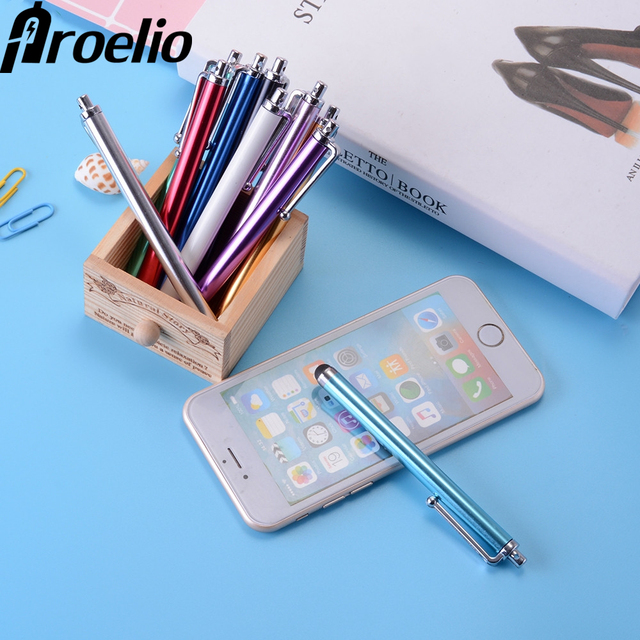 pretty nice 9c1a6 56b9a US $1.67 |5PCS Capacitive Touch Screen Stylus Pen for iPhone X 8 7 6S 6  iPad Xiaomi Huawei P8 P9 P10 Universal Smartphone Tablet Canet Pen-in  Mobile ...