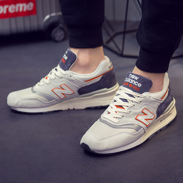 цена на New Balance NB997 Series Men Shoes Sports M997CSEA/DGM Men's Tennis Shoes Sneakers Men