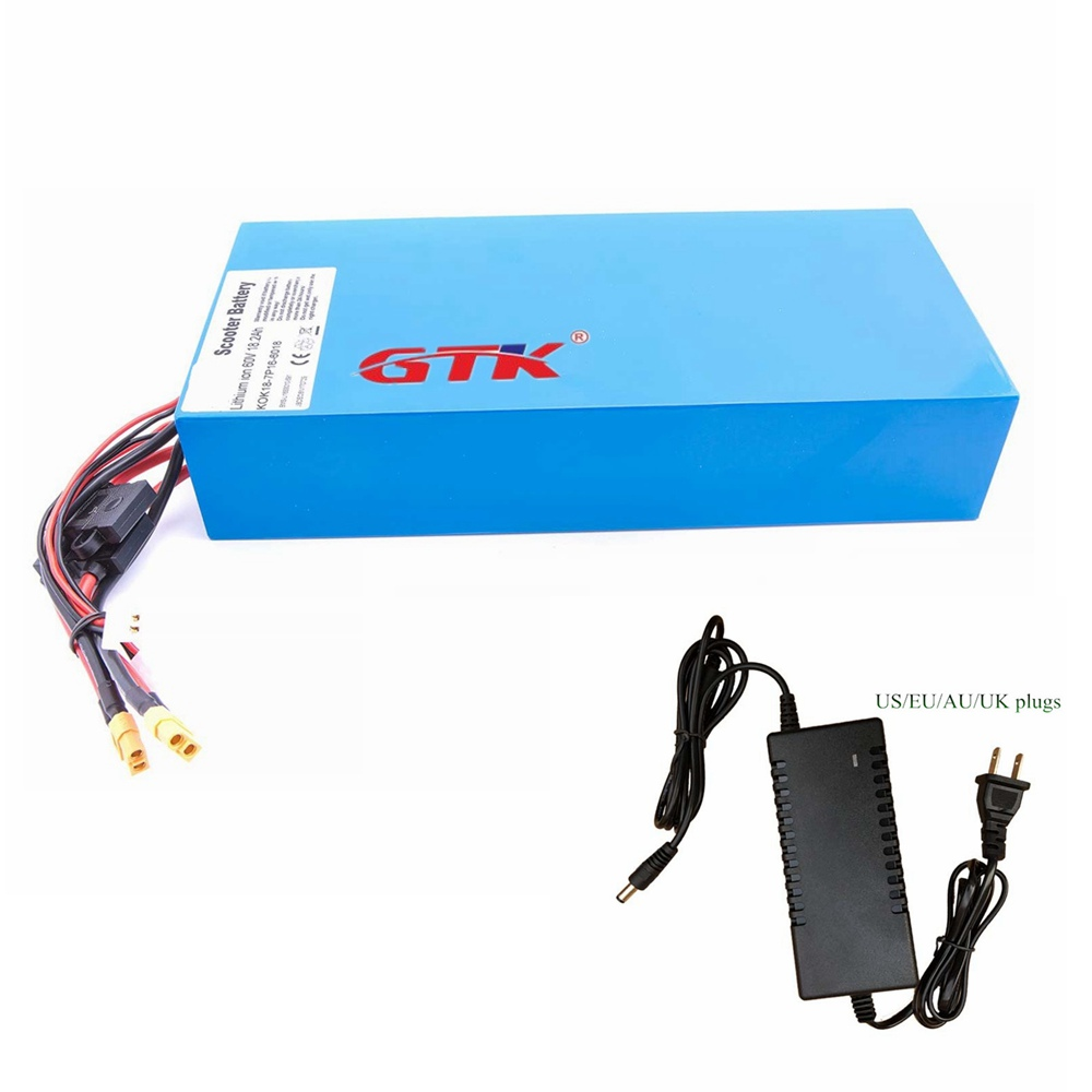 Ebike Battery 48V 18Ah Lithium Li-Ion Pack For 750W-1000W Electric Bike Scooter