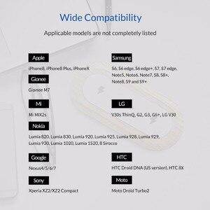Image 5 - ORICO 10W הכפול מטען אלחוטי Qi טעינה מהירה כרית תואם עבור iPhone 11 פרו Xs מקסימום X Xr 8 אינדוקציה מהיר אלחוטי טעינה
