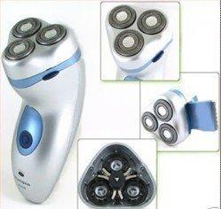 FLYCO Cordless Rechargeable 3 Heads Men's Shaver Razor 1pcs