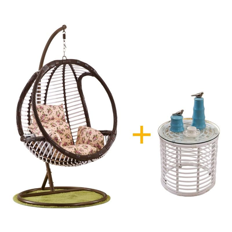 Swing Chair For Bedroom: Circular Gondola Cradle Swing Chair Indoor Balcony Bedroom
