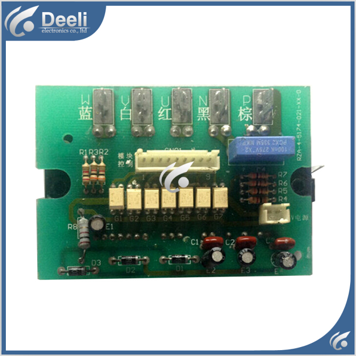 90% new good working for air conditioning Computer board RZA-4-5174-021-XX-1 module good working цены