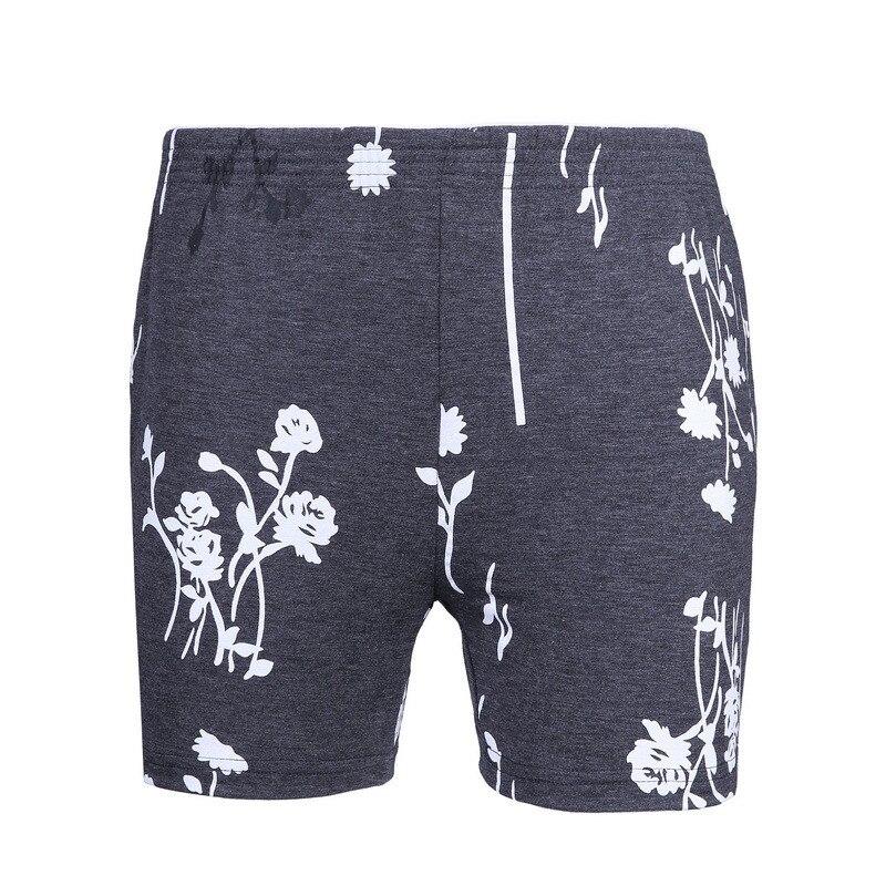 Sleep Bottoms Summer Men Leisure Home Furnishing Modal Thin Pajama Pants Five Short Bamboo Fiber FT139