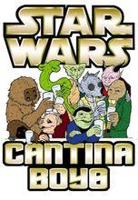 Mens T-Shirt, Star Wars Cantina Boys, Ideal Gift Or Birthday Present Free shipping