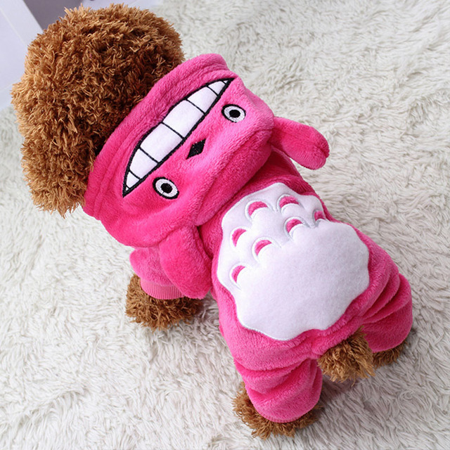 Warm Dog Clothes For Small Dogs Soft Winter Pet Clothing For Dog Clothes Winter Chihuahua Clothes Cartoon Pet Outfit 22-23S1 1