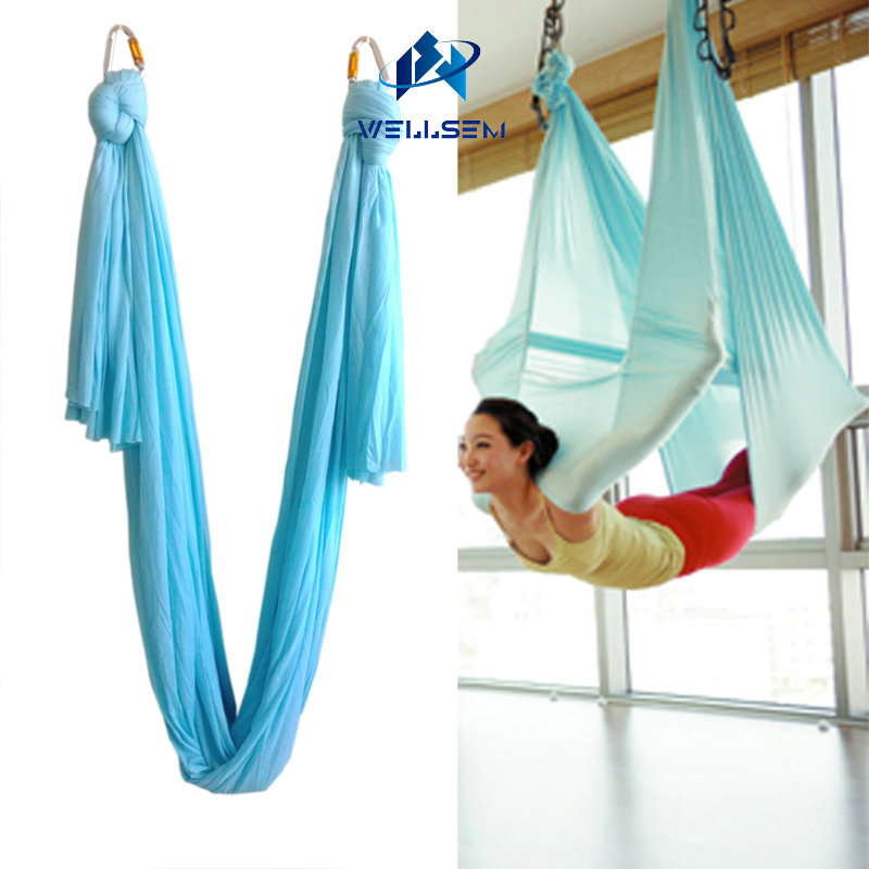 Aerial flying Yoga Hammock Swing Trapeze AntiGravity bed Inversion Aerial Traction Device Yoga for Beginner & Professional|Yoga Belts| |  - title=