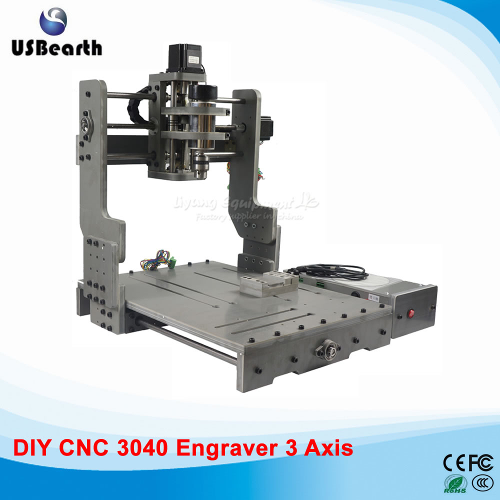 Mini CNC Router 3040 Woodworking Drilling Milling Machine Mach3 CNC Machine, free tax to Russia mini cnc router for woodworking