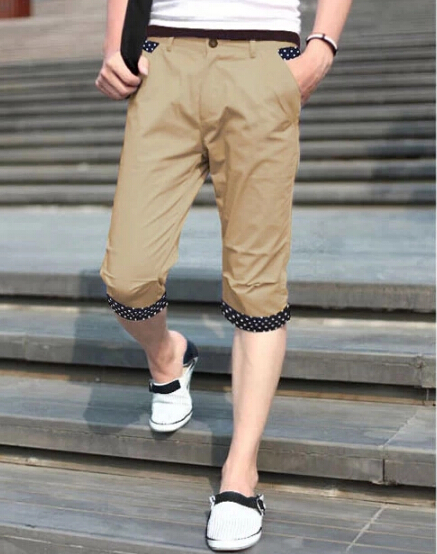 Popular Man Capri Pants-Buy Cheap Man Capri Pants lots from China ...