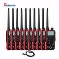 10 pcs Dual Band 5W Walkie Talkie Retevis RT5 128CH VHF UHF 136-174&400-520MHz VOX DTMF Frequency Portable Radio Communicator RU