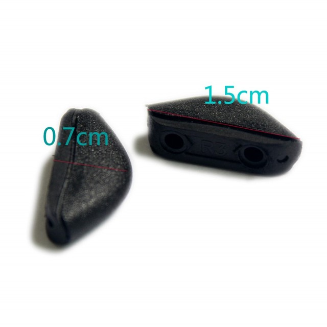 oakley fives squared size gud1  2 sizes Black Soft Silicone Replacement Nose Pads for Crosslink Eyewear  Glasses