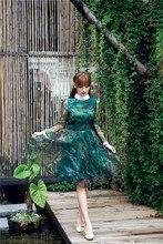 Free shipping 2016 spring women clothing vestido long-sleeve slik lace dress cute vintage dress women