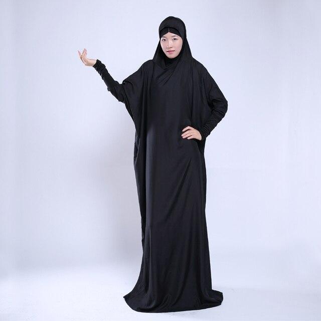 Comercio al por mayor de Las Mujeres Musulmanas Desgaste Primavera Verano Negro Oro Jilbabs y Abayas Musulmanes Jurk Señoras tallas grandes Ropa Musulmane