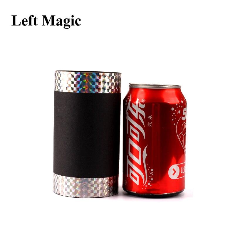 Coke de disparition peut tour de magie soie et canne magique Prop Coke à la soie scène gros plan accessoires de magie mentalisme tours de magie Gimmick