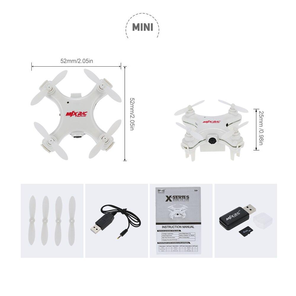 IOW Drone-wit Headless MJX