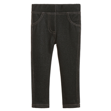 baby boy denim black pants spring autumn trousers baby fashion girls pants jeans Casual toddler skinny